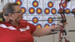 Cpl. (Ret'd) Melanie Harris says she's thrilled to be part of the Invictus Games in Toronto, where she will participate in archery and sitting volleyball.