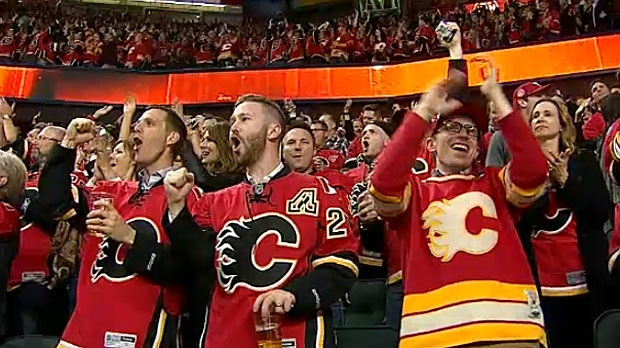 The team says that Calgary remains a strong hockey city and they will continue to use the 34-year-old Saddledome for as long as possible.