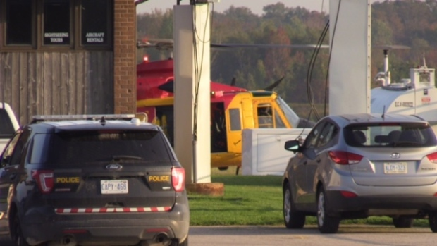 Emergency crews searching for possible plane crash near Goderich
