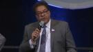 Naheed Nenshi at debate