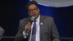 Naheed Nenshi at debate