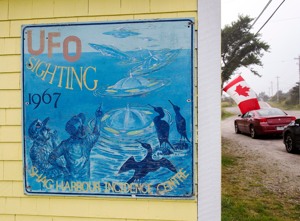 The Shag Harbour Incident Interpretive Centre is seen in Shag Harbour, N.S. on Saturday, Sept. 16, 2017.  THE CANADIAN PRESS/Andrew Vaughan