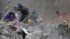 Mexico City, rescue