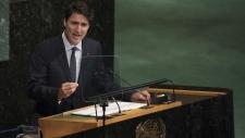 PM Trudeau addresses the UN GA