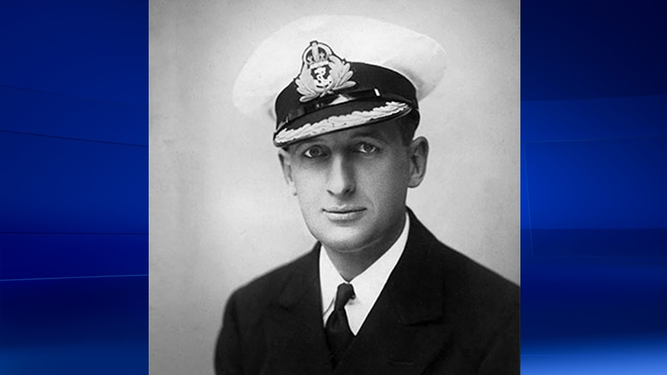 Commander J. Campbell Clouston. © Courtesy of the Clouston family