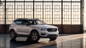 The Volvo XC40 is seen in this handout photo. (Volvo)