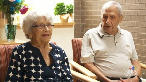 Dell Johnson, 98, and Bill Johnson, 101, recently celebrated their 80th wedding anniversary.