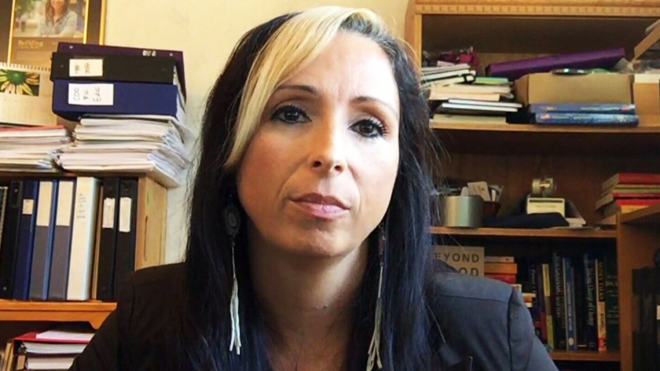 Pam Palmater, chair of Indigenous Governance at Ryerson University, speaks to CTV News Channel on Thursday, Sept. 21, 2017.