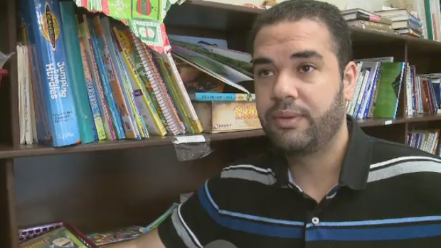 Amine Maazaoui fled Tunisia after facing persecution for converting from Islam to Christianity.