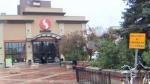 Kensington Safeway - anti-lotering installations