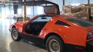 Doug Simpson's 1975 Bricklin.