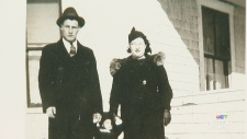 Bill and Dell Johsnon, couple 80 years married