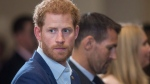 Prince Harry attends the True Patriot Love Symposium, in Toronto on Friday, September 22, 2017. (Chris Young/THE CANADIAN PRESS)