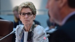 Ontario Premier Kathleen Wynne takes part in the meeting of First Ministers in Ottawa on Friday, Dec. 9, 2016. (Sean Kilpatrick/THE CANADIAN PRESS)