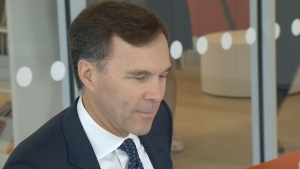 CTV Atlantic: Federal finance minister talks tax