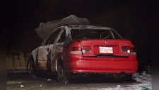 Car found torched after fatal shooting Kamloops