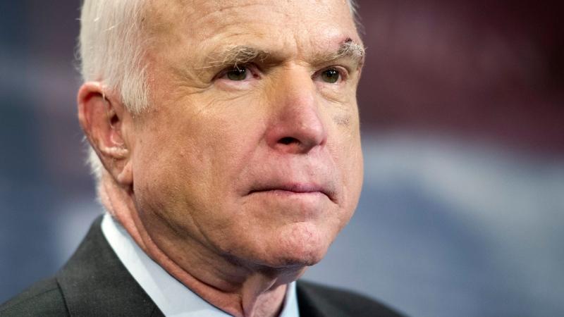 John McCain says his brain cancer prognosis is 'very poor'