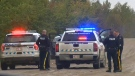 RCMP blocked a section of RR 242 between TWP 473A and TWP 472 on Friday, September 22, 2017.