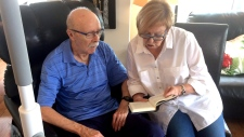 Theresa and Walter Zukauskas are shown in Halifax on Friday, Sept. 22, 2017. The Nova Scotia residents recently learned they would lose their family doctor in early November. Zukauskas was diagnosed with Parkinson's disease in 2010. Since then, he has had three different family doctors. (THE CANADIAN PRESS/Michael Tutton)