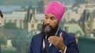 NDP leadership candidate Jagmeet Singh on CTV's Question Period with Evan Solomon.