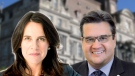 Valerie Plante and Denis Coderre are battling it out for the mayor's seat.