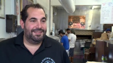 Robert Morena, co-owner of St. Viateur Bagels,
