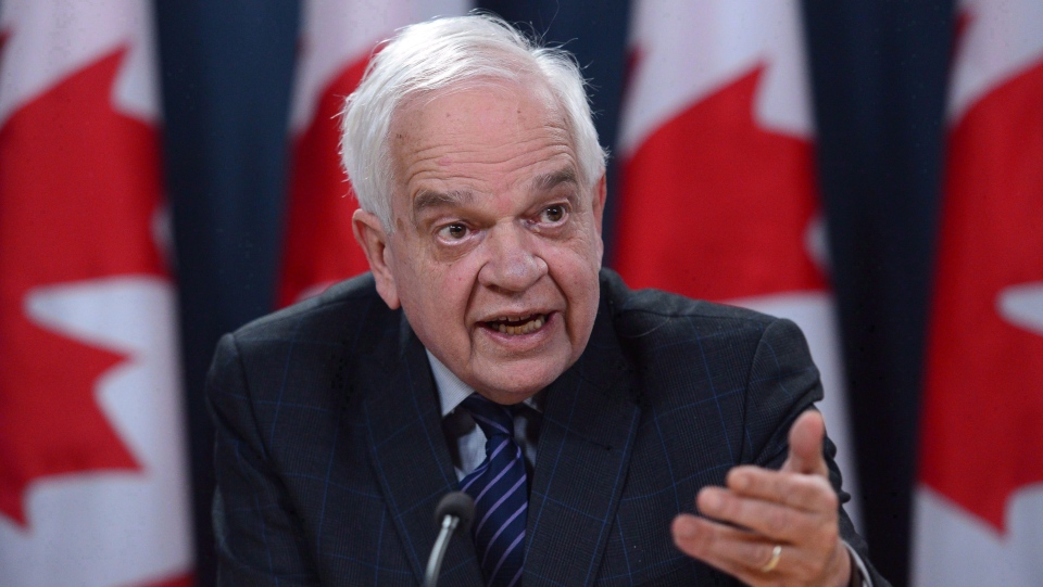 In this Dec. 14, 2016 file photo, Canadian ambassador to China John McCallum speaks during a press conference in Ottawa. (Sean Kilpatrick/The Canadian Press)