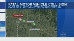 Three killed in crash near Lloydminster
