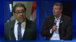 Mayoral candidates - Naheed Nenshi & Bill Smith