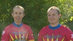 Leukemia survivor joins brother for Tour de Rock