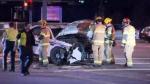 Mountie injured in Port Coquitlam crash