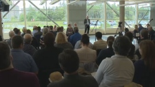Hundreds of Nova Scotia doctors met in Halifax on Saturday, Sept. 2017, to discuss the government's planned tax changes.