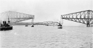 (Archival photo of the Quebec Bridge/ Wikipedia)