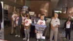 Site C protest