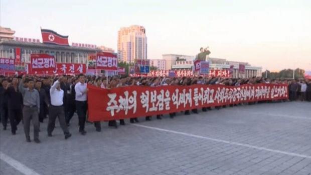CTV National News: N. Korea says rockets 'inevitab