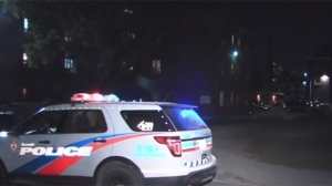 Police are investigating a shooting in Regent Park on Saturday night.