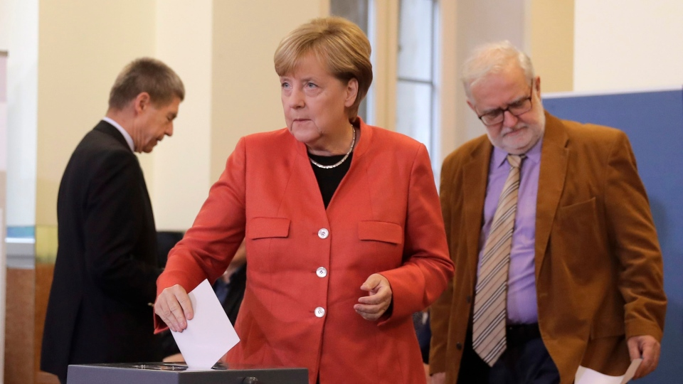 Merkel seen winning 4th term, nationalists strong in Germany