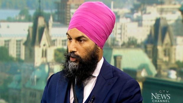 NDP leadership candidate Jagmeet Singh