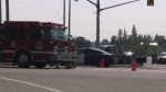 The collision happened around 1 p.m. on Perth Road 101 and Highway 7 and 8.