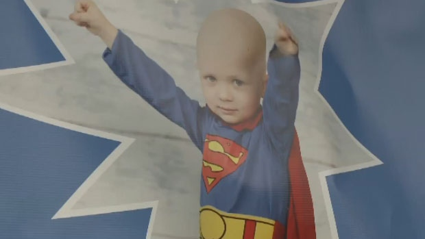 Caleb MacArthur, who passed away at the age of three, often dressed as his favourite superheroes even during his battle with cancer.