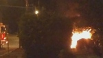 CTV Barrie: Car fire
