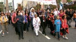 The Walk for Reconciliation traversed two kilometres from Cambie Street and Georgia Street to Strathcona Park on Sept. 24, 2017. (CTV)
