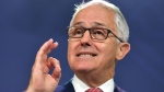 Australian Prime Minister Malcolm Turnbull speaks during a press conference in Sydney, Monday, Sept. 25, 2017.  (Mick Tsikas/AAP Image via AP)
