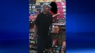 Windsor police are looking for a suspect after six overnight robberies in the city. (Courtesy Windsor police)