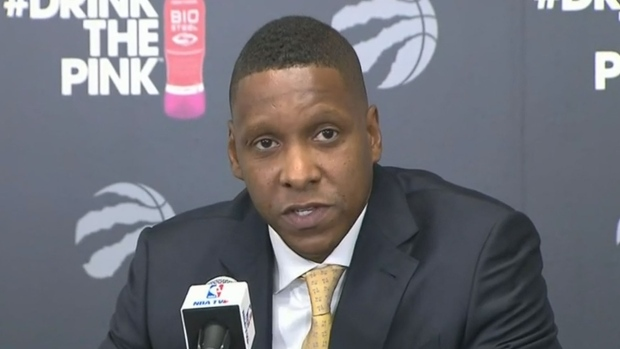 Toronto Raptors fire coach two days after being named NBA's best