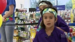 Girl with cancer gets dream shopping spree