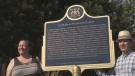 Frano-Ontario plaque