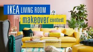 IKEA Living Room Makeover Contest