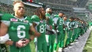 Riders support NFLers after Trump remarks