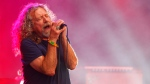 In this June 14, 2015, file photo, Robert Plant and The Sensational Space Shifters perform at the Bonnaroo Music and Arts Festival in Manchester, Tenn. (Photo by Wade Payne/Invision/AP, File)